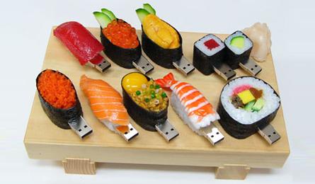 Sushi flash drives