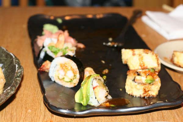 Destroyed sushi