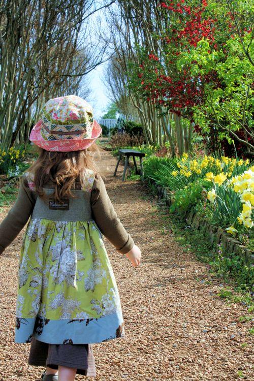 Matilda Jane Girl Garden